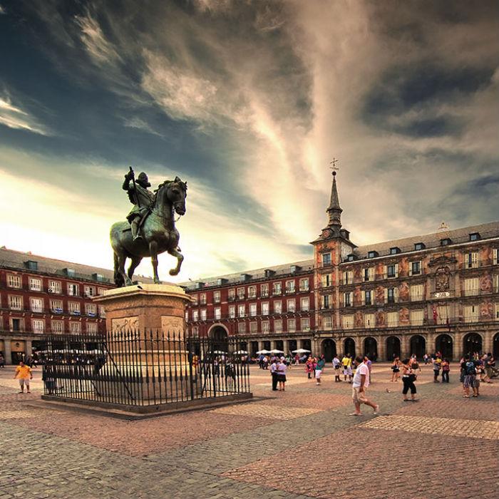 Осмотр достопримечательностей Мадрида