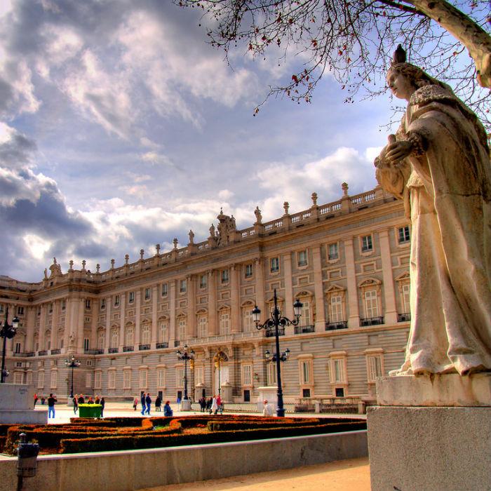 Посещение Мадрида