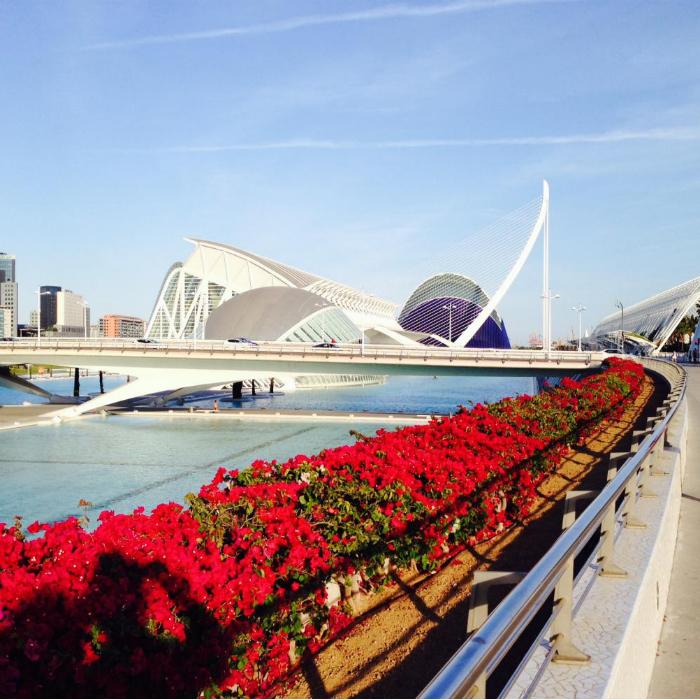 Путешествие в Валенсию